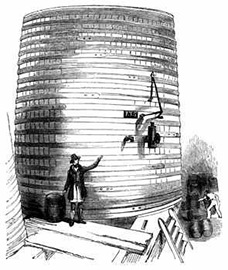 The vat before it rupture